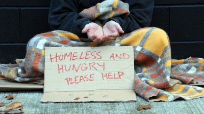 Begging in contemporary times